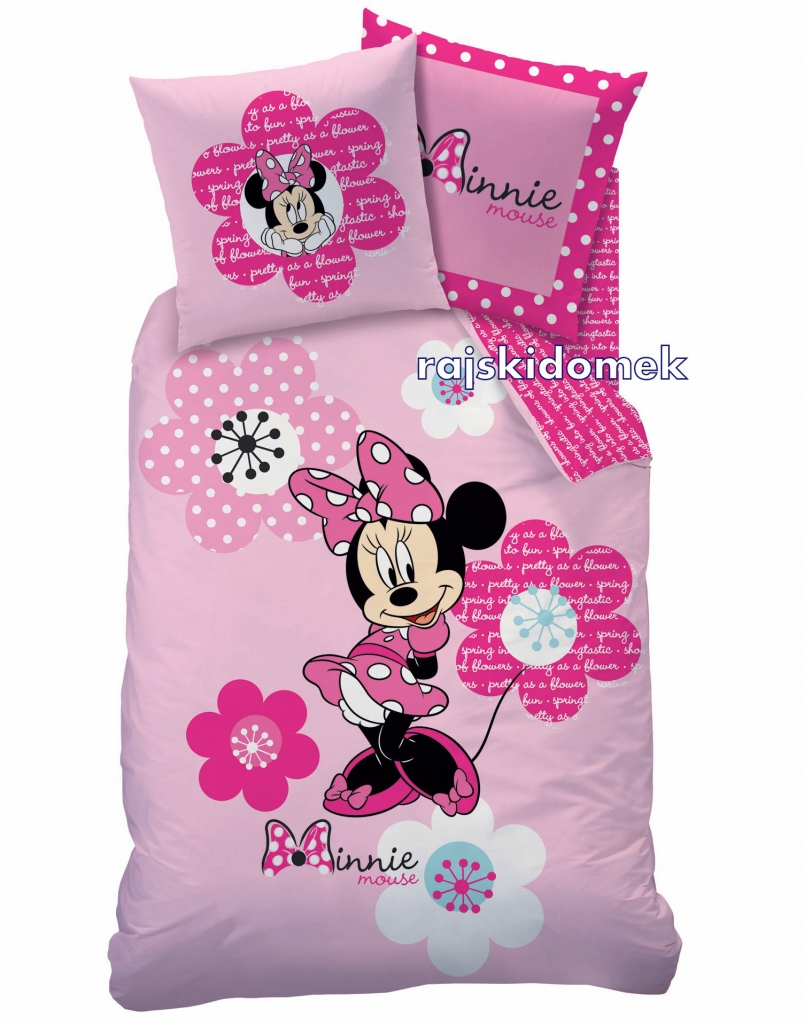 po ciel myszka minnie 140x200 60x80. Black Bedroom Furniture Sets. Home Design Ideas