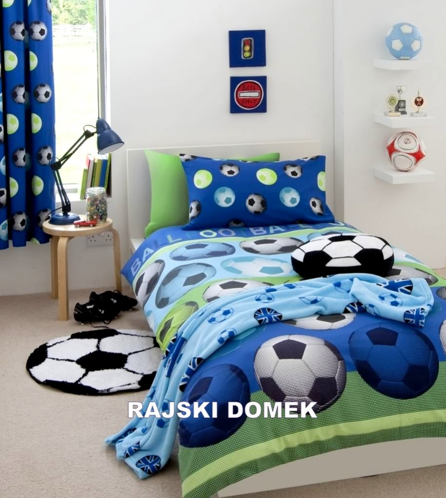 po ciele dla ch opc w po ciel pi ka no na 140x200 po ciele z pi kami niebieska po ciel z pi k. Black Bedroom Furniture Sets. Home Design Ideas