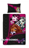 Pościel MONSTER HIGH 140x200 (50x75)